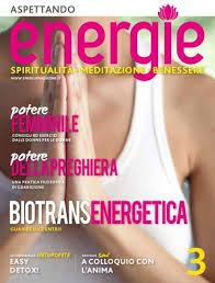 Un'intervista per Energie Magazine. La preghiera